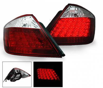 Headlights & Tail Lights - Led Tail Lights - 4CarOption - Scion tC 4CarOption LED Taillights - XT-TLD-TC0407RC-6