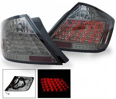 Headlights & Tail Lights - Led Tail Lights - 4CarOption - Scion tC 4CarOption LED Taillights - XT-TLD-TC0407SM-6