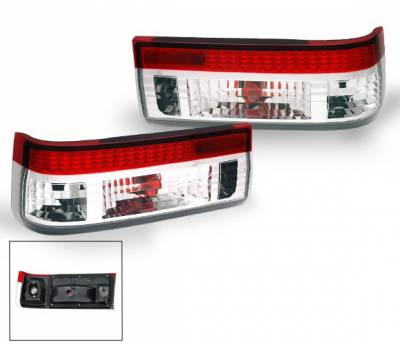 Headlights & Tail Lights - Led Tail Lights - 4CarOption - Toyota Corolla 4CarOption Taillights - XT-TLR-AE868387-6