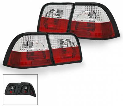 Headlights & Tail Lights - Led Tail Lights - 4CarOption - Nissan Maxima 4CarOption Taillights - XT-TLR-MAX95964-6