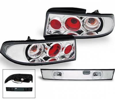 Headlights & Tail Lights - Led Tail Lights - 4CarOption - Nissan 240SX 4CarOption Altezza Taillights - XT-TLZ-240SX9598-6