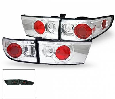 Headlights & Tail Lights - Led Tail Lights - 4CarOption - Honda Accord 4DR 4CarOption Altezza Taillights - XT-TLZ-AC03044-6