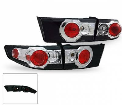 Headlights & Tail Lights - Led Tail Lights - 4CarOption - Honda Accord 4DR 4CarOption Altezza Taillights - XT-TLZ-AC03044BK-6
