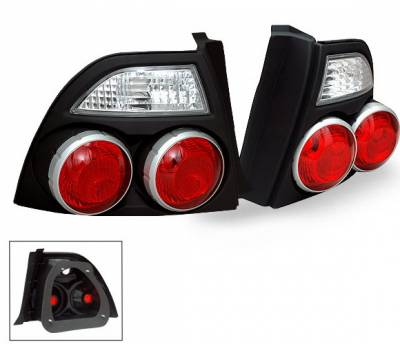 Headlights & Tail Lights - Led Tail Lights - 4CarOption - Honda Accord 4CarOption Altezza Taillights - XT-TLZ-AC9495Q4BK-6