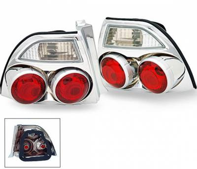 Headlights & Tail Lights - Led Tail Lights - 4CarOption - Honda Accord 4CarOption Altezza Taillights - XT-TLZ-AC9495Q4CM-6