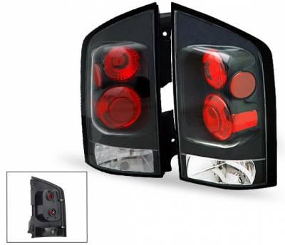 Headlights & Tail Lights - Led Tail Lights - 4CarOption - Nissan Armada 4CarOption Altezza Taillights - XT-TLZ-AMD0406BK-6