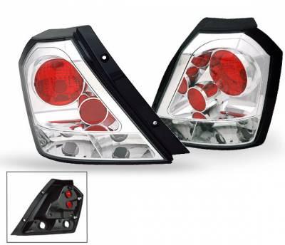 Headlights & Tail Lights - Led Tail Lights - 4CarOption - Chevrolet Aveo 4CarOption Altezza Taillights - XT-TLZ-AVE050407-6