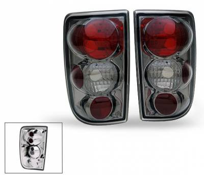 Headlights & Tail Lights - LED Tail Lights - 4CarOption - Chevrolet S10 4CarOption Altezza Taillights - XT-TLZ-BLZ9504SM-6