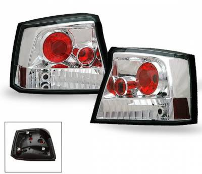 Headlights & Tail Lights - Led Tail Lights - 4CarOption - Dodge Charger 4CarOption Altezza Taillights - XT-TLZ-CHGR0506-6
