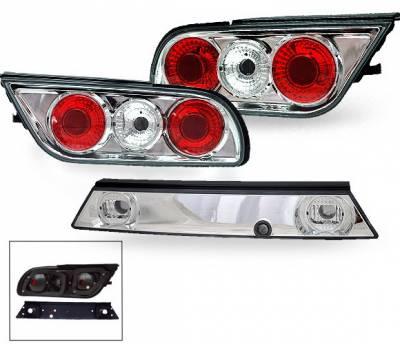 Headlights & Tail Lights - Led Tail Lights - 4CarOption - Nissan 240SX 4CarOption Altezza Taillights - XT-TLZC-S13-6