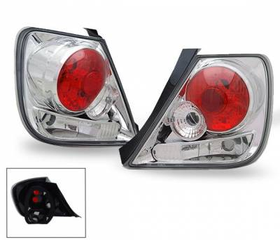 Headlights & Tail Lights - Led Tail Lights - 4CarOption - Honda Civic HB 4CarOption Altezza Taillights - XT-TLZ-CV02043Q5-5