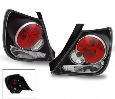 Headlights & Tail Lights - Led Tail Lights - 4CarOption - Honda Civic HB 4CarOption Altezza Taillights - XT-TLZ-CV02043Q5BK-5