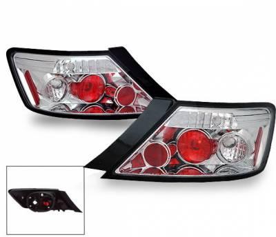 Headlights & Tail Lights - Led Tail Lights - 4CarOption - Honda Civic 2DR 4CarOption Altezza Taillights - XT-TLZ-CV06072-6