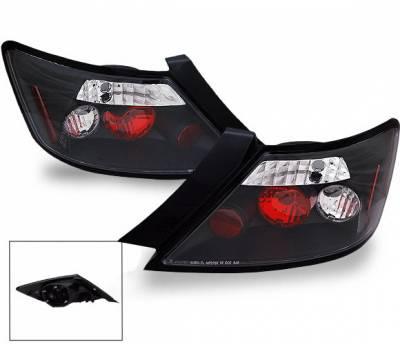 Headlights & Tail Lights - Led Tail Lights - 4CarOption - Honda Civic 2DR 4CarOption Altezza Taillights - XT-TLZ-CV06072BK-6