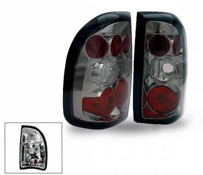 Headlights & Tail Lights - Led Tail Lights - 4CarOption - Dodge Dakota 4CarOption Altezza Taillights - XT-TLZ-DKT9704SM-6