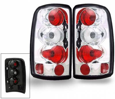 Headlights & Tail Lights - Led Tail Lights - 4CarOption - Chevrolet Suburban 4CarOption Altezza Taillights - XT-TLZ-DNL0003-6