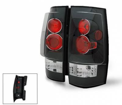 Headlights & Tail Lights - Led Tail Lights - 4CarOption - Chevrolet Suburban 4CarOption Altezza Taillights - XT-TLZ-DNL0708BK-6