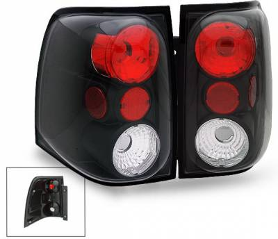 Headlights & Tail Lights - Led Tail Lights - 4CarOption - Ford Expedition 4CarOption Altezza Taillights - XT-TLZ-EXPD0304BK-9