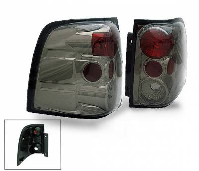 Headlights & Tail Lights - Led Tail Lights - 4CarOption - Ford Expedition 4CarOption Altezza Taillights - XT-TLZ-EXPD0304SM-9