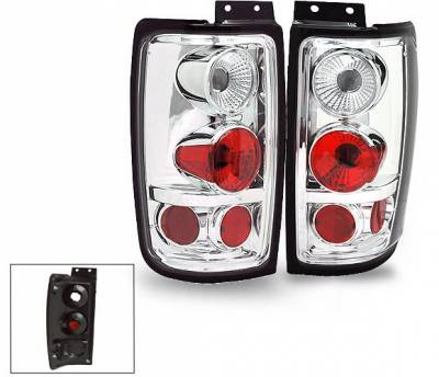 Headlights & Tail Lights - Led Tail Lights - 4CarOption - Lincoln Navigator 4CarOption Altezza Taillights - XT-TLZ-EXPD9702-6