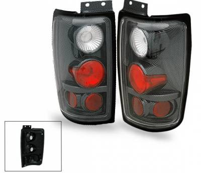 Headlights & Tail Lights - Led Tail Lights - 4CarOption - Lincoln Navigator 4CarOption Altezza Taillights - XT-TLZ-EXPD9702CB-6