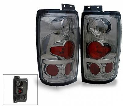 Headlights & Tail Lights - Led Tail Lights - 4CarOption - Lincoln Navigator 4CarOption Altezza Taillights - XT-TLZ-EXPD9702SM-6