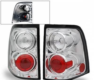 Headlights & Tail Lights - Led Tail Lights - 4CarOption - Ford Explorer 4CarOption Altezza Taillights - XT-TLZ-EXPL0204-6