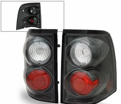 Headlights & Tail Lights - Led Tail Lights - 4CarOption - Ford Explorer 4CarOption Altezza Taillights - XT-TLZ-EXPL0204CB-6