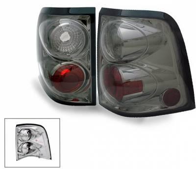 Headlights & Tail Lights - Led Tail Lights - 4CarOption - Ford Explorer 4CarOption Altezza Taillights - XT-TLZ-EXPL0204SM-6