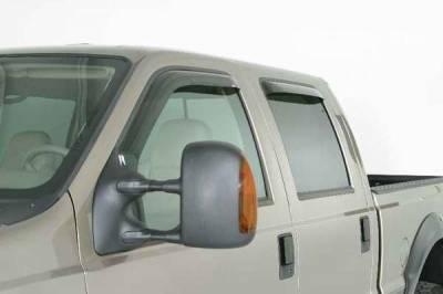 Accessories - Wind Deflectors - Wade - Wade Smoke In-Channel Wind Deflector 4PC - 39485