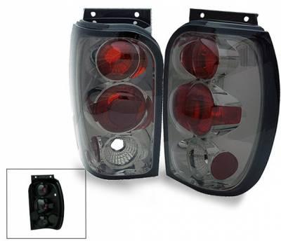 Headlights & Tail Lights - Led Tail Lights - 4CarOption - Ford Explorer 4CarOption Altezza Taillights - XT-TLZ-EXPL9801SM-6