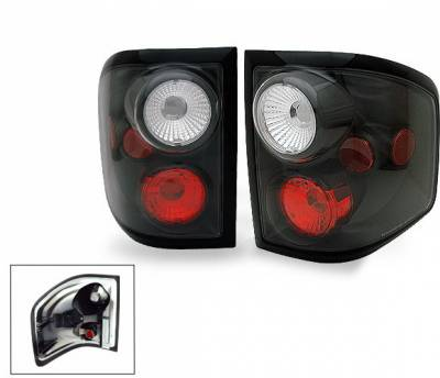 Headlights & Tail Lights - Led Tail Lights - 4CarOption - Ford F150 4CarOption Altezza Taillights - XT-TLZ-F1500103F2BK