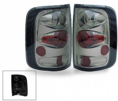 Headlights & Tail Lights - Led Tail Lights - 4CarOption - Ford F150 4CarOption Altezza Taillights - XT-TLZ-F1500304FESM