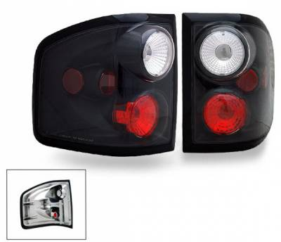 Headlights & Tail Lights - Led Tail Lights - 4CarOption - Ford F150 4CarOption Altezza Taillights - XT-TLZ-F1500405FRBK