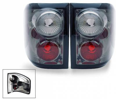 Headlights & Tail Lights - Led Tail Lights - 4CarOption - Ford F150 4CarOption Altezza Taillights - XT-TLZ-F1500405FRSM