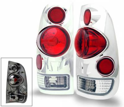Headlights & Tail Lights - Led Tail Lights - 4CarOption - Ford F150 4CarOption Altezza Taillights - XT-TLZ-F1509701Q4-C