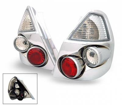 Headlights & Tail Lights - Led Tail Lights - 4CarOption - Honda Fit 4CarOption Altezza Taillights - XT-TLZ-FIT0106-6