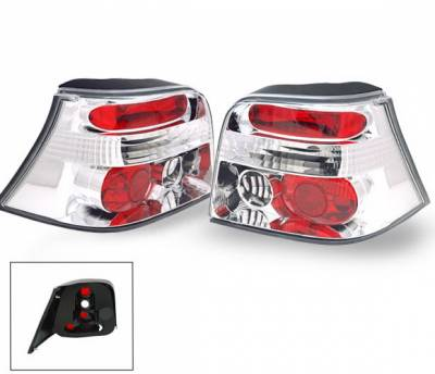 Headlights & Tail Lights - Led Tail Lights - 4CarOption - Volkswagen Golf 4CarOption Altezza Taillights - XT-TLZ-GOLF4-6