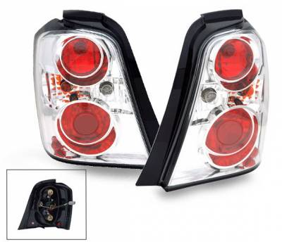 Headlights & Tail Lights - Led Tail Lights - 4CarOption - Toyota Highlander 4CarOption Altezza Taillights - XT-TLZ-HLDR0407-6