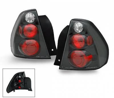Headlights & Tail Lights - Led Tail Lights - 4CarOption - Chevrolet Malibu 4CarOption Altezza Taillights - XT-TLZ-MLB0406BK-6