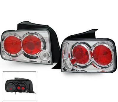 Headlights & Tail Lights - Led Tail Lights - 4CarOption - Ford Mustang 4CarOption Altezza Taillights - XT-TLZ-MST0506-6