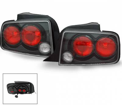 Headlights & Tail Lights - Led Tail Lights - 4CarOption - Ford Mustang 4CarOption Altezza Taillights - XT-TLZ-MST0506CB-6