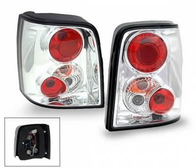 Headlights & Tail Lights - Led Tail Lights - 4CarOption - Volkswagen Passat 4CarOption Altezza Taillights - XT-TLZ-PST97005-6