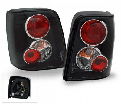 Headlights & Tail Lights - Led Tail Lights - 4CarOption - Volkswagen Passat 4CarOption Altezza Taillights - XT-TLZ-PST97005BK-6