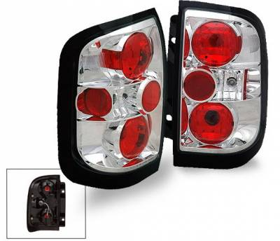 Headlights & Tail Lights - Led Tail Lights - 4CarOption - Nissan Pathfinder 4CarOption Altezza Taillights - XT-TLZ-PTFR9698-6