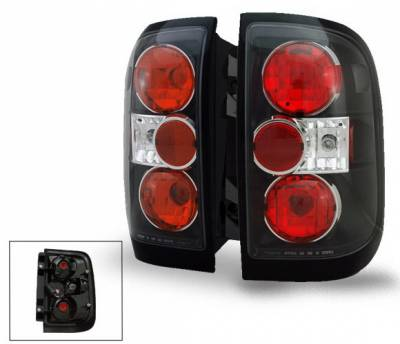 Headlights & Tail Lights - Led Tail Lights - 4CarOption - Nissan Pathfinder 4CarOption Altezza Taillights - XT-TLZ-PTFR9904BK-6