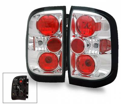 Headlights & Tail Lights - Led Tail Lights - 4CarOption - Nissan Pathfinder 4CarOption Altezza Taillights - XT-TLZ-QX49704-6