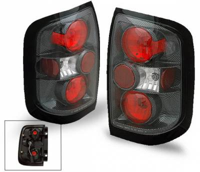 Headlights & Tail Lights - Led Tail Lights - 4CarOption - Nissan Pathfinder 4CarOption Altezza Taillights - XT-TLZ-QX49704CB-6