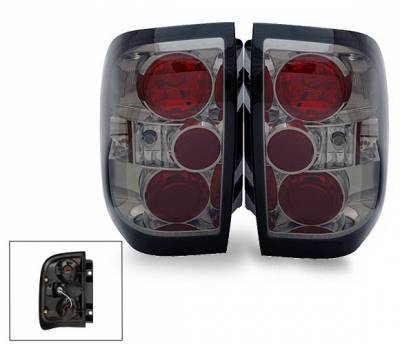 Headlights & Tail Lights - Led Tail Lights - 4CarOption - Nissan Pathfinder 4CarOption Altezza Taillights - XT-TLZ-QX49704SM-6
