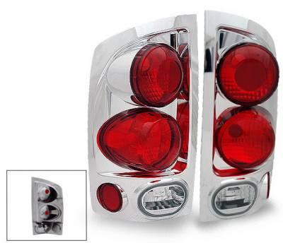 Headlights & Tail Lights - Led Tail Lights - 4CarOption - Dodge Ram 4CarOption Altezza Taillights - XT-TLZ-RAM0203Q4C-6